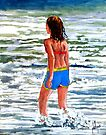 Beach Baby by Jim Phillips