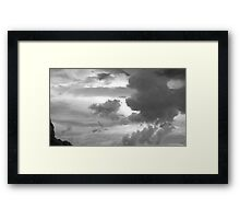 Atmospheric Grit Framed Print