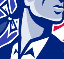 American Patriot Minuteman Stars Stripes Flag Sticker