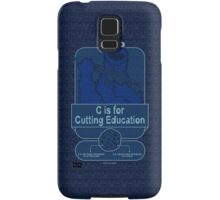 C is for Cutting Education Samsung Galaxy Case/Skin