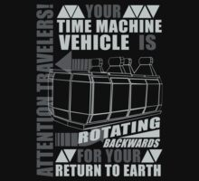 Time Travel Backwards T-Shirt