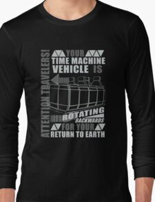 Time Travel Backwards Long Sleeve T-Shirt