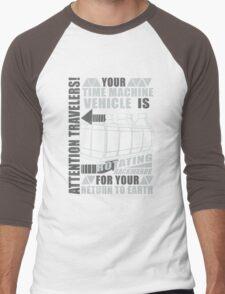 Time Travel Backwards Men's Baseball ¾ T-Shirt