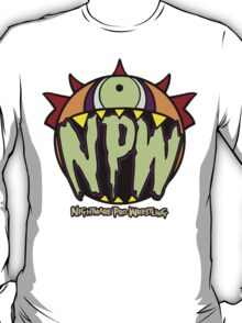 Nightmare Pro Wrestling - Logo  T-Shirt