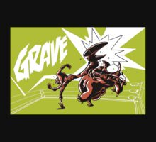 Grave - Finisher Tee by Jon David Guerra