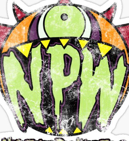 Nightmare Pro Wrestling - Vintage Tee Sticker