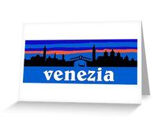 Venezia skyline - Venice Greeting Card