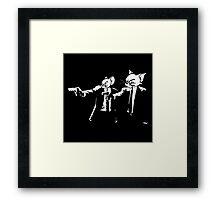 Vincent Mouse & Jules Cat Framed Print