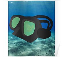Nemo In Diving Goggles Poster
