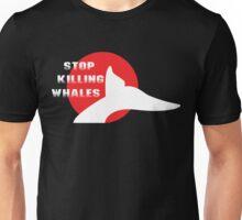 Japan Stop Killing Whales Unisex T-Shirt