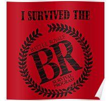 Survival Souvenir Poster