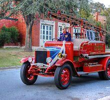 Times gone By Fire Engine  28 Dennis 250 by Kym Bradley