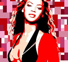 Beyonce - Pop Art by wcsmack
