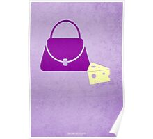 Lilly's Purple Plastic Purse w/o Title Poster