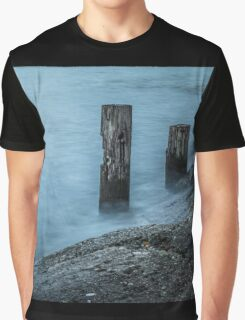 Waves on the Sausalito Shore Graphic T-Shirt