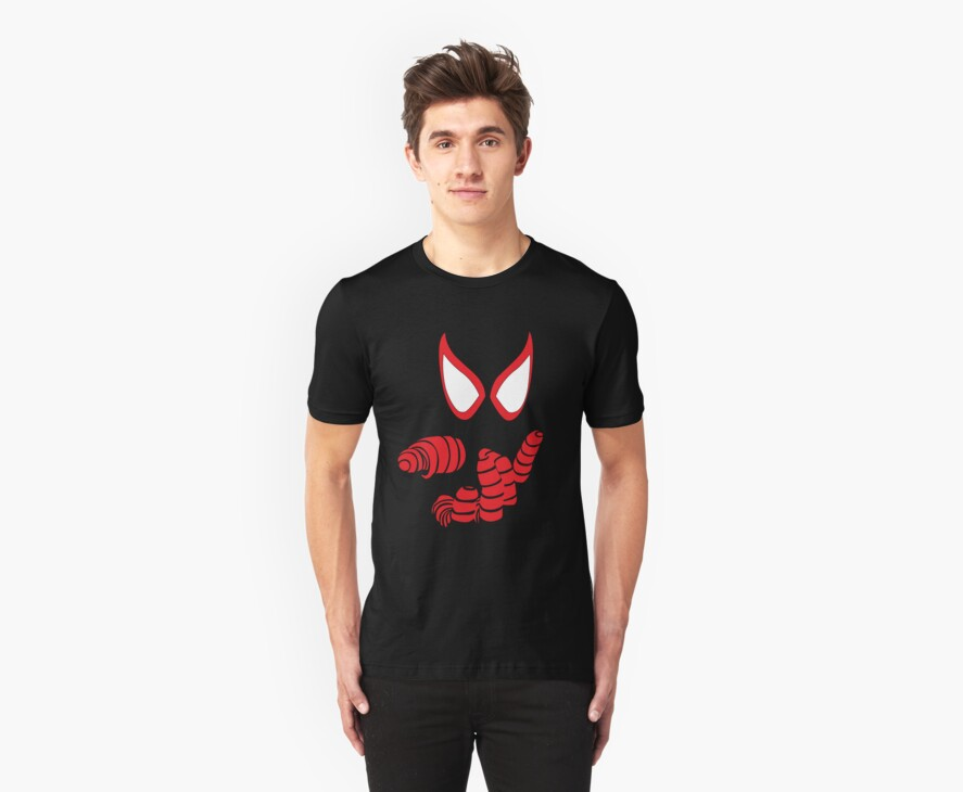 Miles Morales Spider-man T-Shirt by Yujiiro