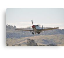 Hunter Valley Airshow 2015 Airshow - Mustang Take-off Canvas Print