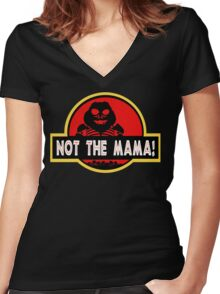 I'm the Baby! Women's Fitted V-Neck T-Shirt