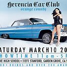 Herencia Car Club Flyer by geneticthreat