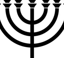 12 Tribes of Israel (Circle) Sticker