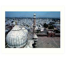 Jammi Masjid Old Delhi Art Print