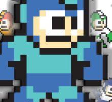 Megamans - Power ups Sticker