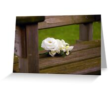 Buttonhole Rose Greeting Card