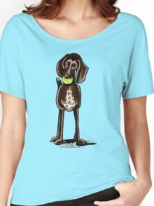 German Shorthaired Pointer Playtime Women's Relaxed Fit T-Shirt