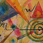 The Kandinsky Swirl by Warren  Thompson