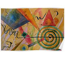 The Kandinsky Swirl Poster