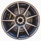 Weds Sport SA-70 racing wheel. AP racing caliper by whm001