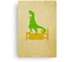 How Do Dinosaurs Say Goodnight w/o Title Canvas Print