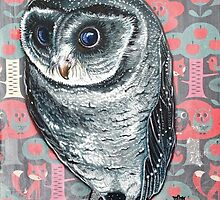 Sooty Owl by Melanie Pople