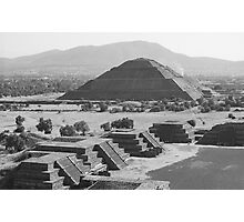 Teotihuacan - Pyramid of the Sun Photographic Print