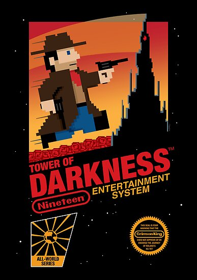 Tower of Darkness by mikehandyart