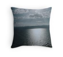 Lake Ohrid, Macedonia Throw Pillow