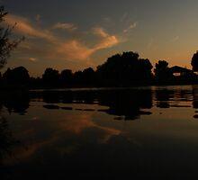 Sky in the Lake by Adam Kuehl