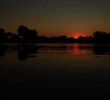 Another Lisle, IL Sunset by Adam Kuehl