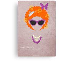 Fancy Nancy Canvas Print