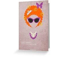 Fancy Nancy Greeting Card
