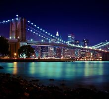 Brooklyn Bridge (View From DUMBO) by odessit40