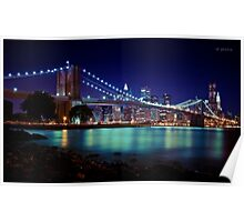 Brooklyn Bridge (View From DUMBO) Poster