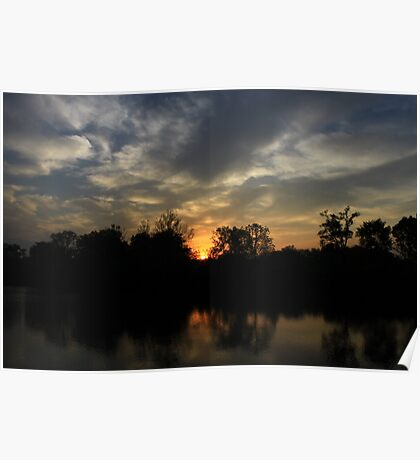Beautious Sunset Poster