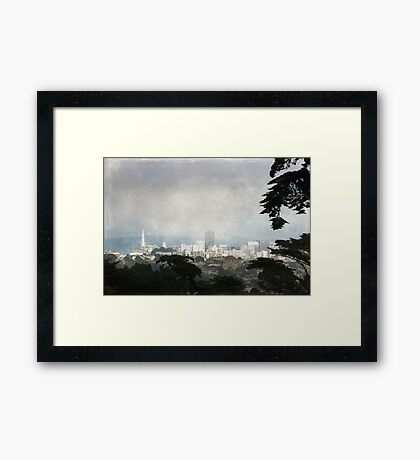 The City by the Bay Framed Print