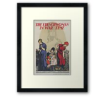 The Frenchwoman in war time Framed Print