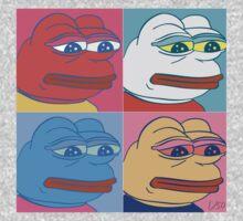 Rare Pepe Art Kids Clothes