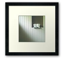 the slow guide ....... Framed Print
