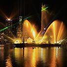 City of Lights Laser Show, Brisbane, Australia 12 Sept 2012 by Sea-Change