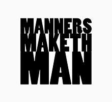 KINGSMAN - Eggsy Manners Maketh Man Long Sleeve T-Shirt