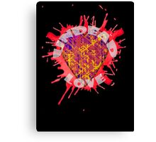 undead love Canvas Print